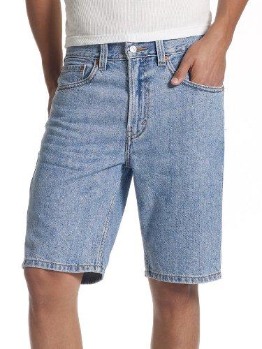 ea1622b2c0 Levi's Men's 505 Regular Fit Short, Light Stonewash, 32 - Import It All