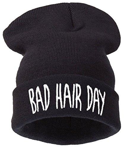 4sold New sombreros gorro Slouch 200modelos + Logo mal pelo día era para sombreros bigote Geek Wasted Youth 1994fetiche F * * K it ASAP basterd Beliber Harry bruja Bah Hair Day Black