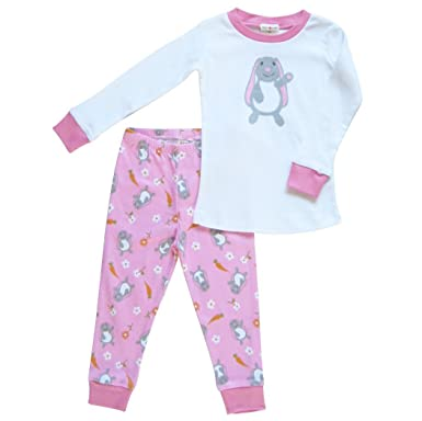 c9a8a5f7 Bunny Pajamas Apple Park Organic Cotton Sizes 6 Months to 10 Years (Youth 8)
