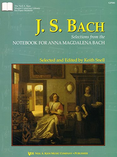 Anna Magdalena Book Bach (GP381 - J.S. Bach: Selections from the Notebook For Anna Magdalena Bach)