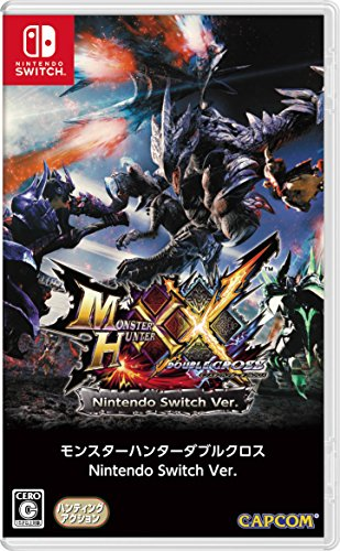 Monster-Hunter-XX-Double-Cross-Only-In-Japanese-Language-Standard-Edition-Nintendo-Switch-Japanese-Version