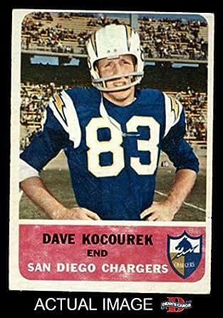Amazon Com 1962 Fleer 81 Dave Kocourek San Diego