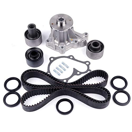 ECCPP Timing Belt Water Pump Kit Fit for 1990-1996 Nissan 300ZX Non Turbo 3.0L VG30DE