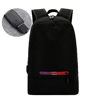 fcbd6b29bb7e Amazon.com: Reichlixin with USB Rechargeable Computer Bag Casual ...