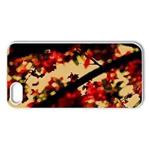 Spring Wallpaper Watercolor style Cover iPhone 5 and 5S Case (Spring Watercolor style Cover iPhone 5 and 5S Case)