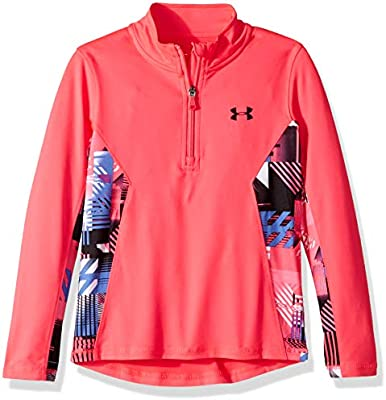 Under Armour Girls Little Training 1//4 Zip Sweater