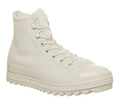 Converse All Star Lift Ripple Femmes Vintage Blanc Hi Basket