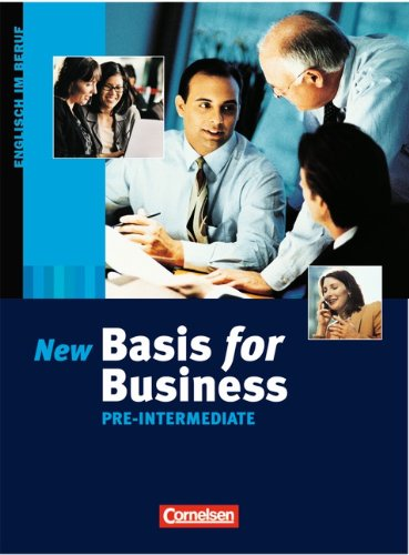 Basis for Business - Third Edition: Pre-Intermediate - Kursbuch