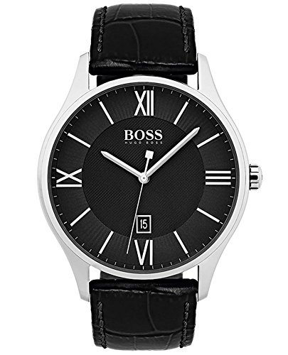 Hugo Boss 1513485 Black 44mm Stainless Steel Governor Men's - Mens Boss Watches