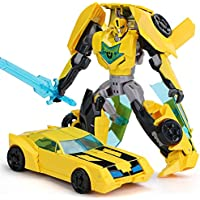 Transformers Bumblebee Toy Model Car Robot for Children