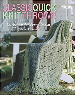 Afghans & Throws: Cover Them in Comfort with a Delightful Collection of Throws (Annies Knitting)
