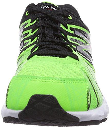 New Balance KJ890 (GRADE) - zapatilla deportiva de material sintético infantil verde - Grün (CHG GREEN/BLACK)