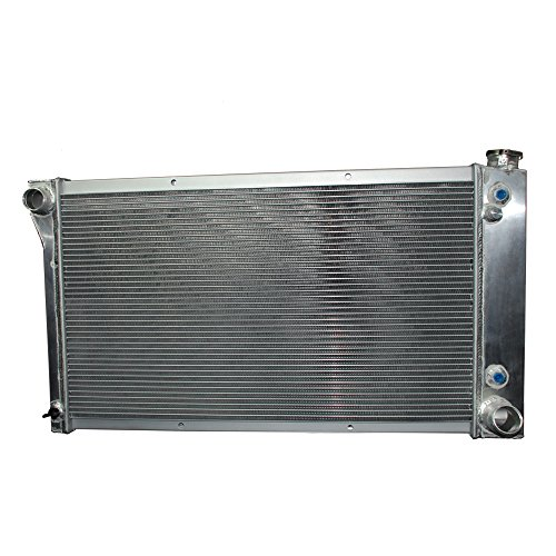 NileRoyal 3 ROW RACING FULL ALUMINUM RADIATOR FOR 1967-1972 CHEVY/GMC C/K SERIES PICKUP TRUCK