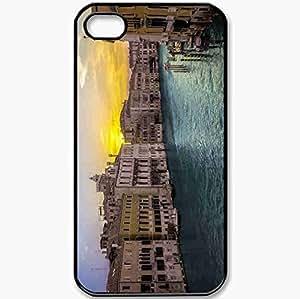 Protective Case Back Cover For iPhone 4 4S Case Landscape Black