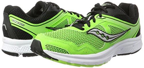 Pour De Black 10 Cohesion Saucony Chaussures Vert Course slime Hommes qZ5t41