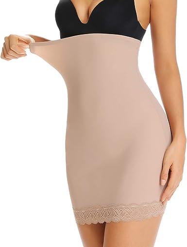 WOWENY - Body Moldeador para Mujer - Faja Adelgazante - Vestido ...