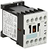 Siemens 3RT15 16-1BB40 Special Application Contactor, DC Operation, Screw Connection, S00 Size, 7.5HP Maximum HP Rating at 460VAC, 24VDC Rated Control Supply Voltage