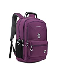 UBORSE 18.4 Inch Backpack Laptop Bag Travel Rucksack Water-resistant Hiking Knapsack Protective Day Pack Fits 15 - 18.4 Inch Laptop For Dell / HP / Lenovo / Macbook / Acer / Men/Women