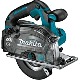 Makita XSC04Z 18V LXT Lithium-Ion Brushless Cordless 5-7/8″ Metal Cutting Saw, with Electric Brake and Chip Collector, Tool Only For Sale
