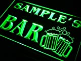 ADVPRO Name Personalized Custom Home Bar Beer Mugs Cheers Neon Sign Green 12'' x 8.5'' st4s32-w-tm-g