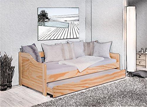 Letto 90x190 cm 90x200 culla letto per gli ospiti letto ...