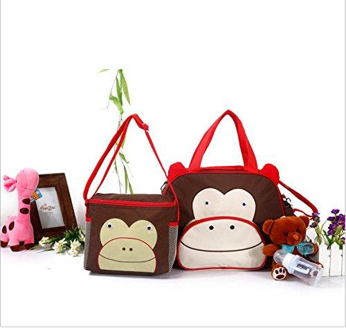 Mom Bag,diaper tote bag,baby bag,picnic bag,animal bag with large capacity