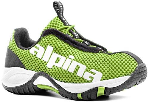 Alpina Unisex de tiempo libre ewl Junior Niños Guantes, Trekking de & Senderismo Zapatos verde