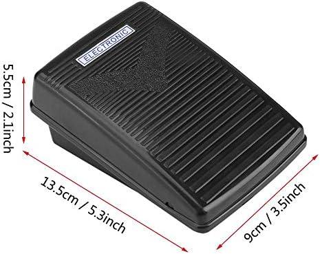 Hilitand Pedal de Control de pie Máquina de Coser doméstica Cable de Control de pie electrónico con Cable de alimentación (Enchufe de la UE)(220v): Amazon.es: Hogar