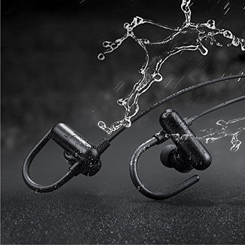 Amazon.com: TaoTronics PHOBOS Sweatproof Weatherproof Sports Headphones (Black): Cell Phones & Accessories