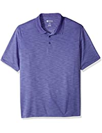 Men's Big and Tall Short Sleeve Space Dye Polo