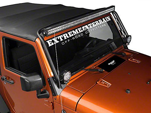 Jeep Wrangler 2007-2018 Hood Vent Cover. Prevents Dust From Entering The Cab Through The Ventilation System When Off Roading. (Black)