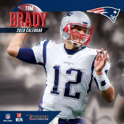 2019 New England Patriots TOM BRADY Wall Calendar