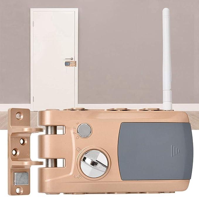 Cerradura de seguridad invisible con 4 mandos, Cerradura ...