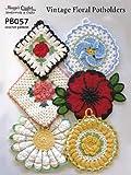 Arts & Crafts : Vintage Floral Potholders Crochet Patterns