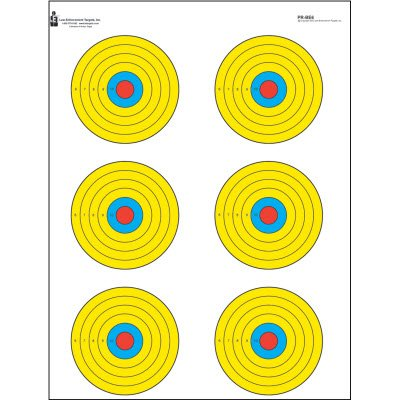 colored shooting targets - 3