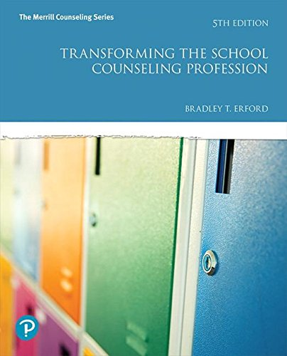Pdf Teaching Transforming the School Counseling Profession (5th Edition) (Merrill Counseling)