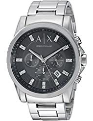 Armani Exchange Mens AX2092  Silver  Watch
