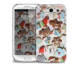 christmas biscuits Samsung Galaxy S3 GS3 protective phone case