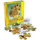 Puzzles Plus Van Gogh Sunflowers 24 Piece Jigsaw Puzzle