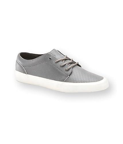 e79d094eebcf9a Vans U 106 Vulcanized Ca Sneaker (Micro Perf) Pewt  Amazon.co.uk  Shoes    Bags