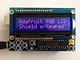 Adafruit RGB LCD Shield Kit w/ 16x2 Character Display - Only 2 Pins Used!