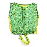 Kids Stuff Green and Yellow Fishes Swim Vest Small/Medium 20-33 lbs