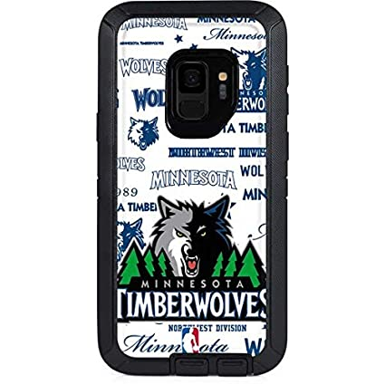 Amazon Com Skinit Nba Minn Timberwolves Otterbox Defender Galaxy