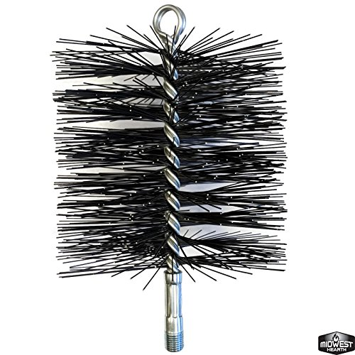 Midwest Hearth Wire Chimney Cleaning Brush (6-Inch (Rutland Wire Chimney Brush)