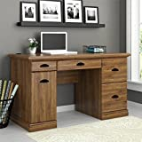 vintage design with multiple storage drawers and trays large workstation sophisticated antique look is perfect addition in home and office abby oak