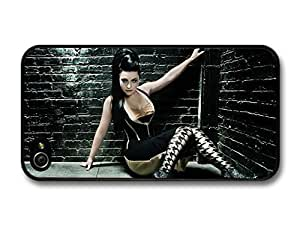 AMAF ? Accessories Amy Lee Evanescence Sitting with High Heels in a Corner case for iPhone 4 4S