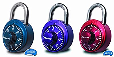 Master Lock 1530DCM X-treme Combination Lock in Assorted Colors