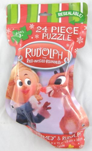 - Rudolph the Red-Nosed Reindeer Hermey & Rudolph 24 Piece Jigsaw Puzzle