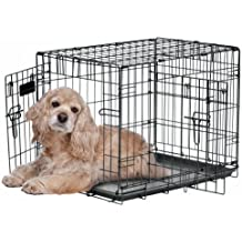 "Precision Pet""ProValu,"" Double Door Dog Crate"