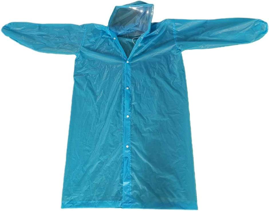 BIlinli Impermeable Protector Anti-Saliva desechable Impermeable ...